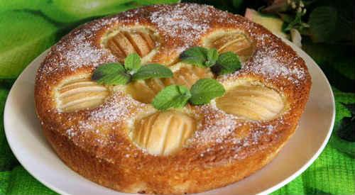 пирог из груш