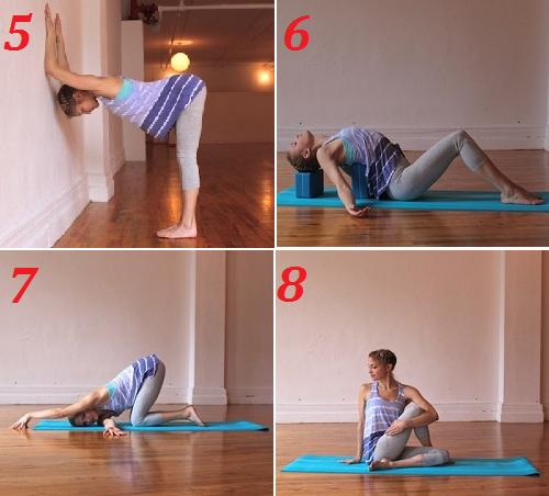 гимнастика йоги хондрозе шеи