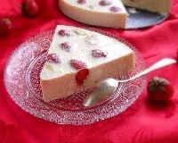 Десерты из клубники - творожный, со сметаной, сливками, желатином, бананом