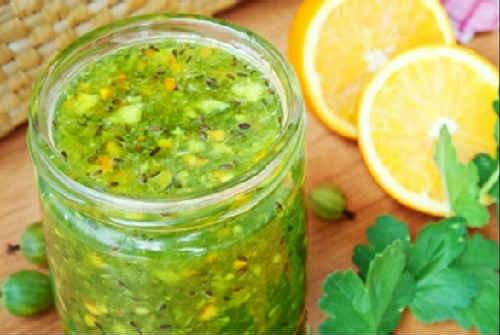 рецепт крыжовенного варенья с апельсином