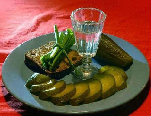 рецепты огурцов на зиму с водкой