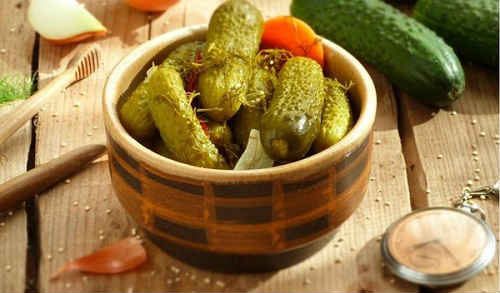 рецепты соленых огурцов с горчицей