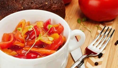рецепт лечо из перца с помидорами