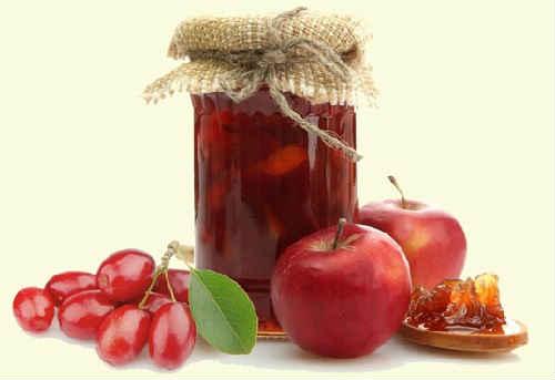 варенье из кизила и яблок