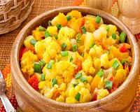 Овощное рагу с кабачками и картошкой - рецепты в мультиварке, с баклажанами, капустой, мясом