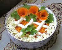 Салат Лисья шубка - рецепты с красной рыбой, селедкой, курицей и грибами