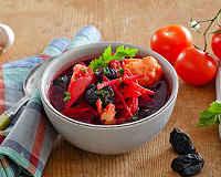 Постный борщ - 6 рецептов с фасолью, капустой, грибами, свеклой, килькой в томате