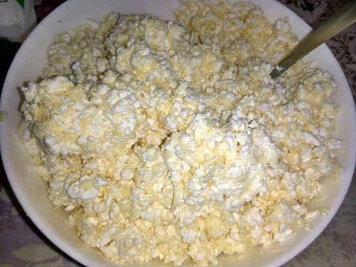сырно-творожная начинка