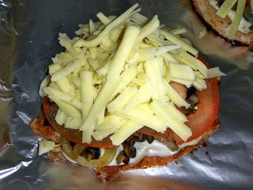 верхний слой сыр