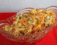 Салат с копченой курицей и морковью по-корейски - рецепты с кукурузой, фасолью, огурцом