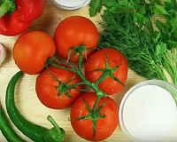 Помидоры по-корейски - рецепты с морковь, острые, быстрого приготовления, на зиму