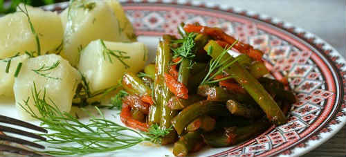 салат из стрелок
