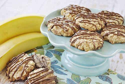 овсяное печенье с бананом