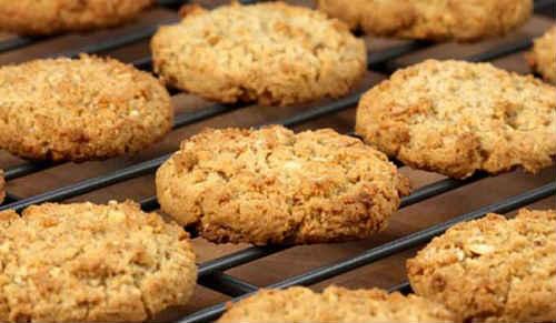 постное печенье из геркулеса