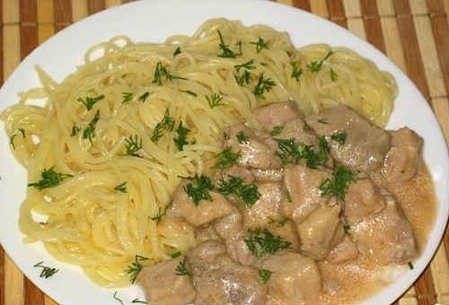 рецепт тушеной говядины