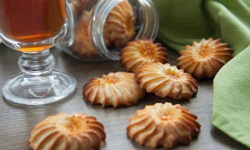песочное печенье курабье рецепт