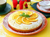 пирог с апельсином рецепты