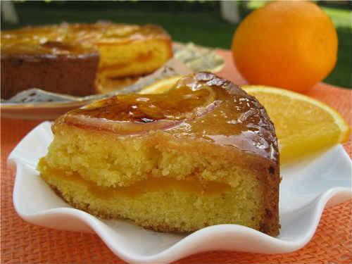 пирог с апельсином рецепт