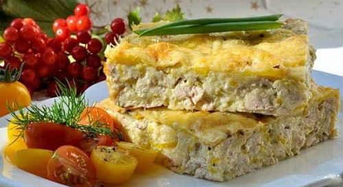 запеканка с фаршем и картошкой рецепт
