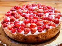 пирог с клубникой пошаговый рецепт
