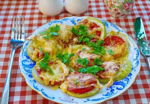 кабачки рецепты с сыром