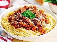 как приготовить спагетти болоньезе с фаршем