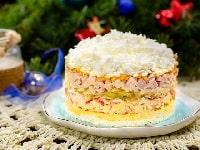 салат «Снежная королева» рецепт