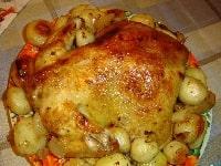 курица с картошкой рецепт в рукаве